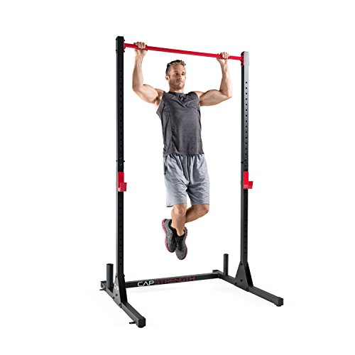 Cap Barbell Power Rack Exercise Stand Multiple Colors