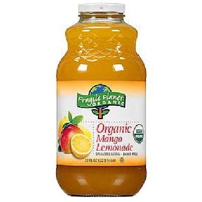 Fragile Planet Organic Mango Lemonade 48x 32OZ by FRAGILE PLANET