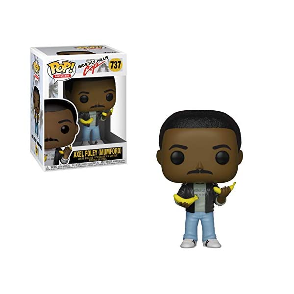 Funko Pop! Movies: Beverly Hills Cop - Axel (Mumford),Multicolor 2
