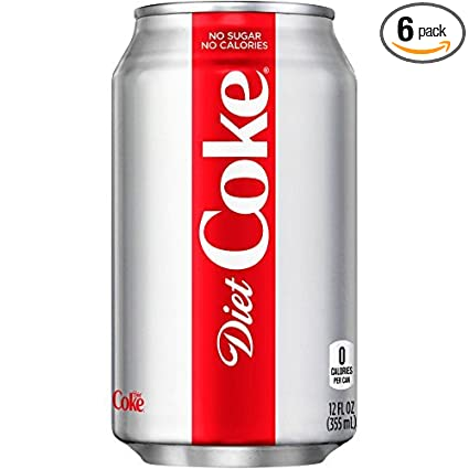 food delivery diet coke
