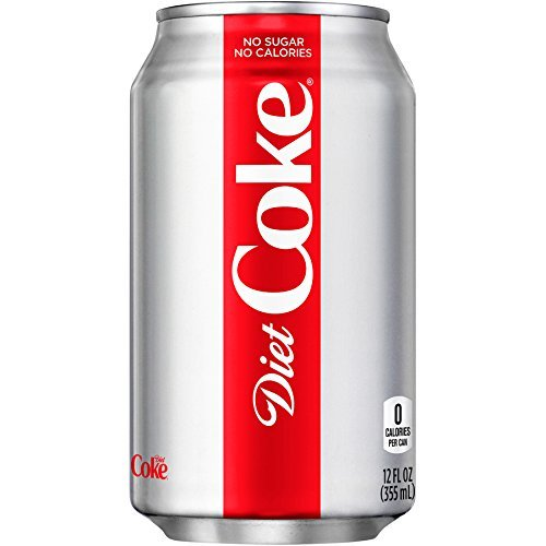 Diet Coke, 12-Ounce Cans (Pack of 24)