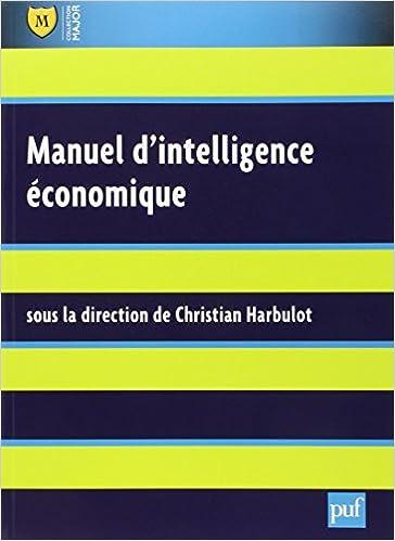 Lire un Manuel d'intelligence économique pdf ebook