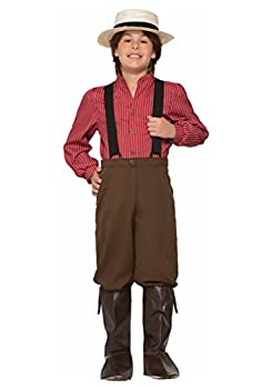 Forum Novelties Boys Pioneer Costume, Multicolor, Large 0