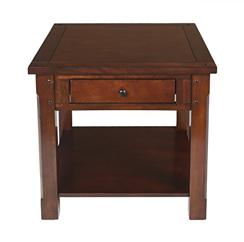 New Classic Corsica End Table, African (Corsica Wood)