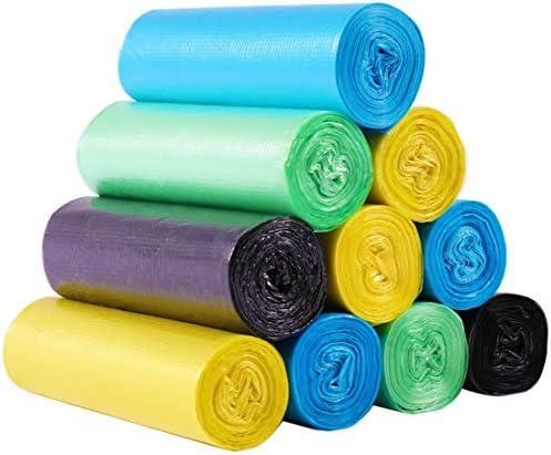 ごみ袋ベストタイプ肥厚携帯用ごみ袋家庭用キッチン浴室の色は丈夫で耐久性があり、簡単に破損しません, color