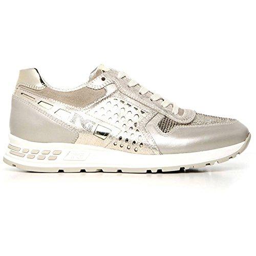 Sneaker Camoscio 505 Giardini Nero Savana P717220D Bassa Donna in 1RnSnWxTwH