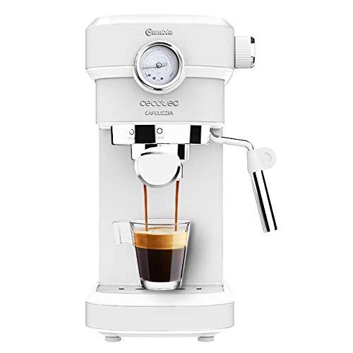 🥇 Cecotec Cafetera Espresso Cafelizzia 790 White Pro.Sistema Thermoblock