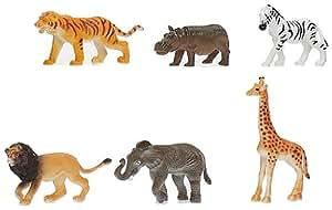 Cosas 542011 - Bolsa 6 Animales Selva