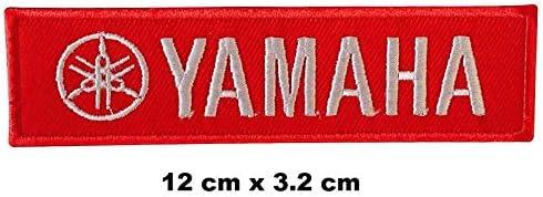 Vintage Yamaha Racing Formel 1 Biker Logo zum Aufb/ügeln