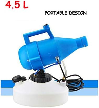 ULV 電動 消毒噴霧器,ポータブル フォガー,殺虫 剤 消毒 フォガー,大きな 領域 滅菌,屋内用 屋外 庭 ヤード 青い 4.5l