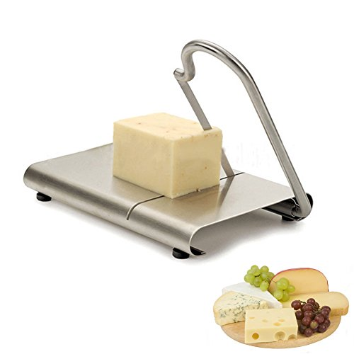 ALPHELIGANCE Home Kitchen Multi-fuctional Stainless Steel Cheese Butter Slicer Cutting Board Baking Tool (Blade)