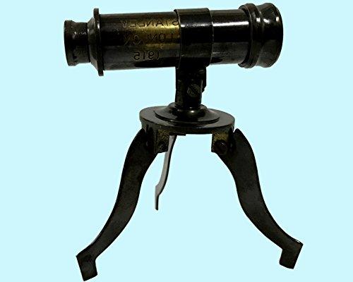 Antiques World Marine Art Décor Beautiful Home Décor Antiquated Solid Brass Tripod Stand Spyglass Telescope AWUSATC 055