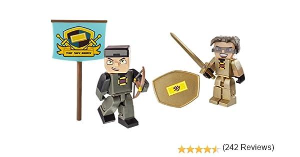 Tube Heroes Héroes Pack - Sky - 2 Figuras de Acción 7cm Accesorios: Amazon.es: Juguetes y juegos