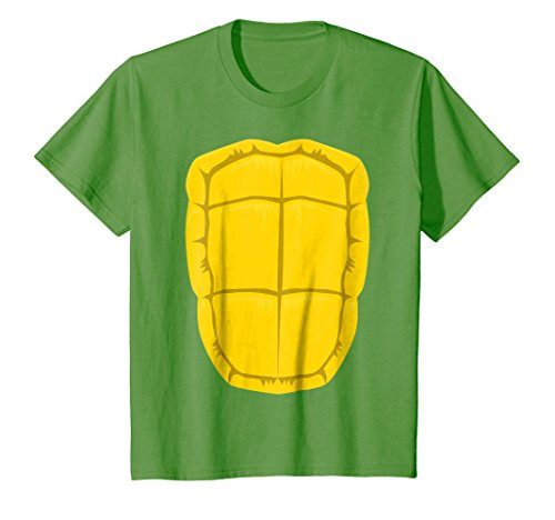 Kids Funny Turtle Shell Halloween Costume Shirt Gift Clever DIY 8 Grass -