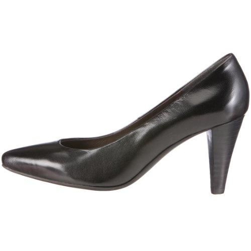 Andrea Conti 0590074 0590074 - Zapatos clásicos de cuero para mujer, color negro, talla 36