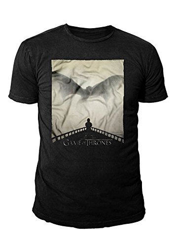 Game of Thrones - Herren T-Shirt - Cover Staffel 5 (Schwarz) (S-XL)