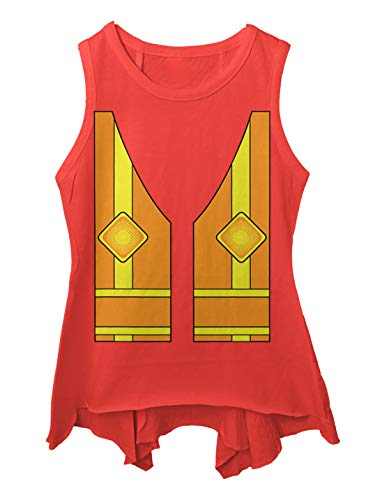 Construction Worker Vest - Costume Cute Toddler/Youth Sleeveless Backswing (Red, 2T -