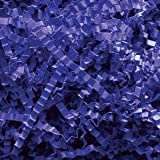 Royal Blue Crinkle Cut Paper Shred 10 lbs/Case