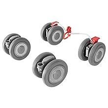 Maclaren ruedas delanteras y traseras Techno XLR: se adapta de forma segura a los buggies Techno XLR para cubrir aún más millas. Disponible en plata