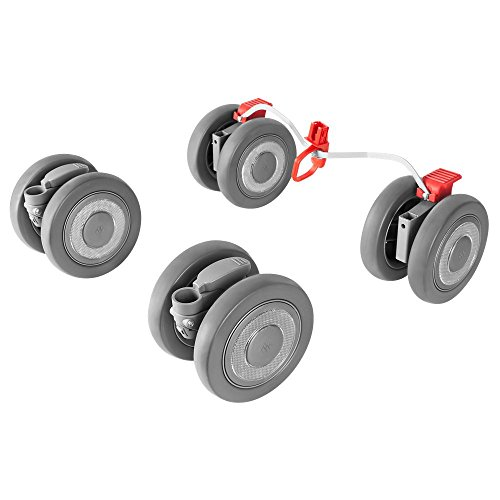 Maclaren Techno XLR Front and Rear Wheels, Silver