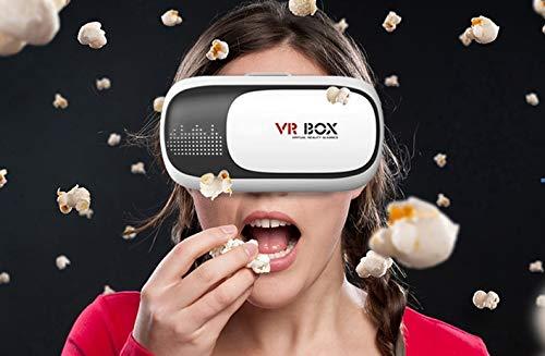 Alle 4.7~6.0 Smartphone a.Handels 3D VR Brille Virtual Reality Box VR Gl/äser mit Kopfhalterung kompatibel f/ür Smartphones//Brillen Virtuelle Realit/ät//iPhone 7 7 Plus iPhone 6 Plus 6 Samsung Note 4