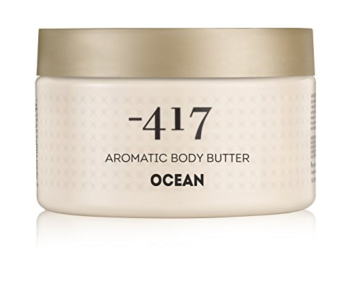 -417 Dead Sea Cosmetics Aromatic Ocean Butter Nourishes & relaxes the skin - Protecting from UV Radiation - preventing Skin Aging - With Shea Butter & Aloe Vera - All Natural 8.4 oz