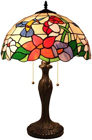 Tiffany Table Lamp Hummingbird Lampshade product image