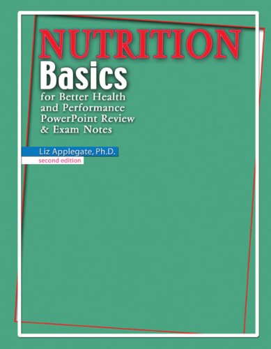 Nutrition Basics For Better Health And Performance Powerpoint Review & Exam Notes