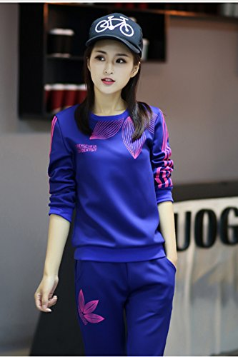a7655b4a75be7 Generic Leisure sports suits 2018 new Korean Women yards fashion was ...