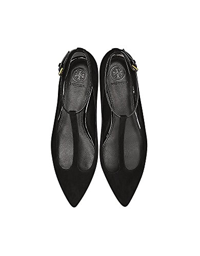 buy cheap low shipping Tory Burch Women's 42968009 Black Leather Flats fashionable online clearance get to buy 2015 new sale online outlet where to buy n7Qxo