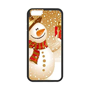 iPhone 6 Plus 5.5 Inch Cell Phone Case Black Snowman SJ9457787