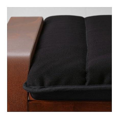 Amazon.com: IKEA otomana, café medio, Ransta negro ...