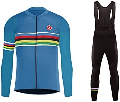 Uglyfrog Invierno Ropa Ciclismo Hombre Mantener Caliente Hombre Manga Larga Maillot Ciclismo +Bib Pantalones Sets with Gel Pad Winter Style