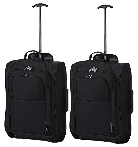 x2 Carry On Delta United Southwest etc - CarryOn Bag Travel Suitcase Luggage Set Atlantic Luggage Luggage Set