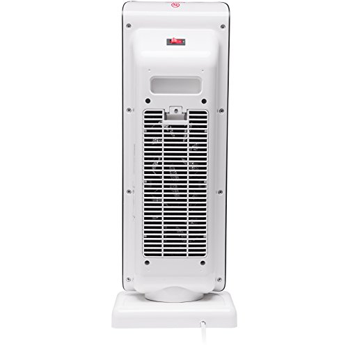 Tall Portable Fan : Rosewill electric oscillating tower heater fan with