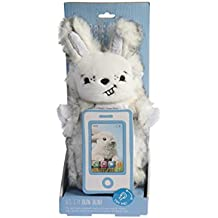 PawdPet Plush Protective Pals Bun Bun (Bunny) Small Magnetic Holder & Carrier for iPhone, iPod Touch, and mobile devices up to 4'' screen size