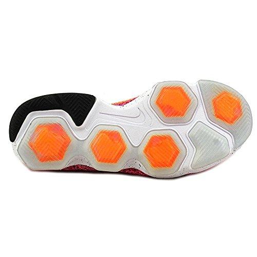 Nike Damen Zoom Fit Agility Low Top Schnürrunning Sneaker Rosa Kriegsgefangene schwarze helle Zitrusfrucht