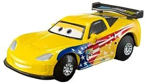 Cars 2 - Vehículo Jeff Gorvette (Mattel Y1303)