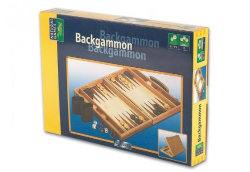 Holz-Backgammon