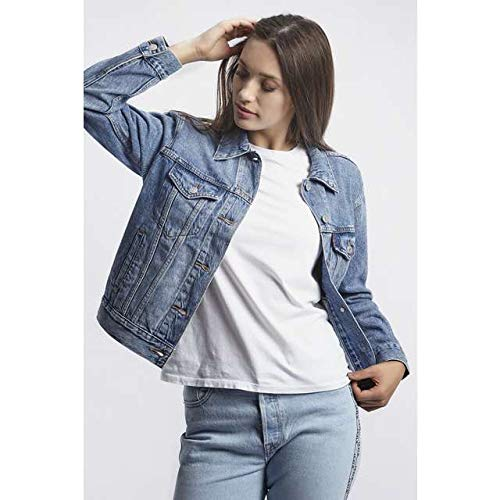 c346ec78eaa Levi's Women's Original Trucker Denim Jacket , per pack Blue (Soft As  Butter Dark 0063