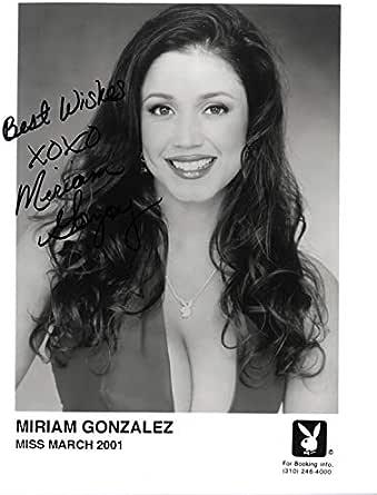 Miriam Gonzalez Playboy Playmate