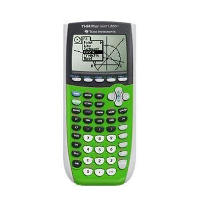 Texas Instruments TI-84 Plus Silver Edition 84PLSE//CLM//1L1//BB Graphing Calculator