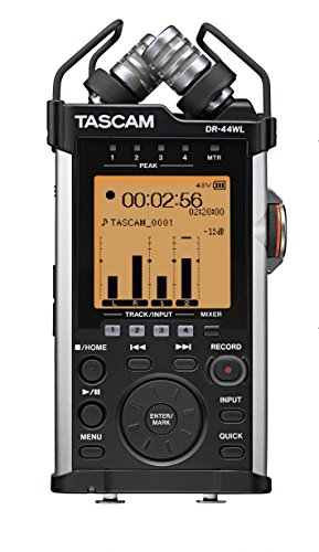 Tascam DR-44WL Handheld Portable Audio Recorder with WiFi