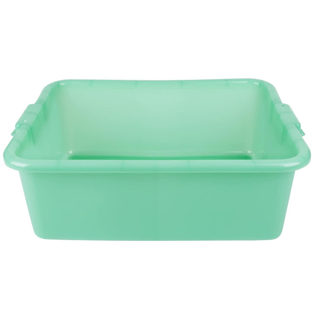 Vollrath 1527-C19 Food Storage Box - Traex Color-Mate Green 20'' x 15'' x 7''