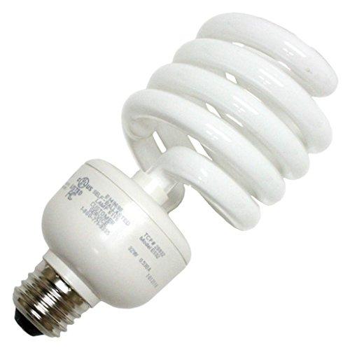TCP 2893227741K 32-watt 4100-Kelvin Springlamp Light Bulb Medium Base, 277-volt