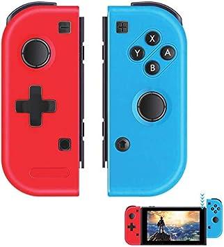 Elyco Mando para Nintendo Switch, 2er-Set Wireless Bluetooth Joycon Gamepad Joypad Joystick De Reemplazo Izquierdo Y Derecho para Nintendo Switch Controlador: Amazon.es: Electrónica
