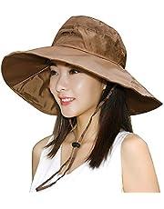 BeFur Women Waterproof Rain Boonie Hat Breathable Fishing Bucket Sun Flap Cap