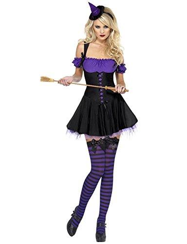 Wicked Witch Costume - Large - Dress Size 14-16 (Wicked Witch Fancy Dress)