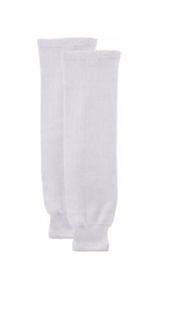Bauer Youth Core Practice Hockey Socks, White, L-XL by Bauer Hockey