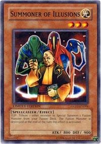 - Yu-Gi-Oh! - Summoner of Illusions (GLD1-EN004) - Gold Series 1 - Limited Edition - Common